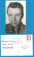 (A168) Signature / Dédicace / Autographe Original De Michel AUCLAIR - Acteur Cinéma Et Théâtre - Autographes