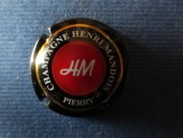 HENRI MANDOIS Centre Rouge. Grandes étoiles - Champagne
