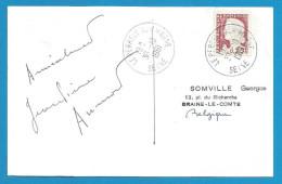 (A169) Signature / Dédicace / Autographe Original De Jean-Pierre AUMONT - Acteur - Autographes