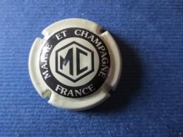 MARNE ET CHAMPAGNE Crème Et Noir - Marne Et Champagne