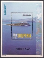 Albania Stamps 2004. CEPT Europe, Vacations, Holidays, Tourism. Block MNH - Albania