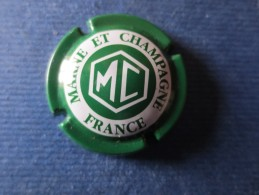MARNE ET CHAMPAGNE Vert Et Blanc - Marne Et Champagne