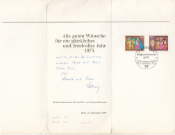 Germany Bundesministerium Post Official Greeting Card 1972 D160705 - BRD