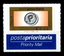 Italia Repubblica 2006 Posta Prioritaria  € 0,60 Con Appendice MNH** Integro - 6. 1946-.. Republic