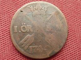 PAYS NORDIQUES Monnaie De 1 Or SM 1740 - Monnaies