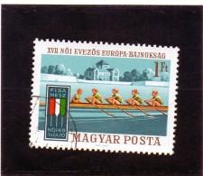 B - 1970 Ungheria - Campionati Europei - Canottaggio
