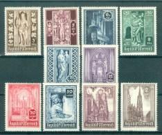 AUSTRIA - Mi Nr 791/800   - MNH** - Cote 12,00 € - 1945-60 Ongebruikt