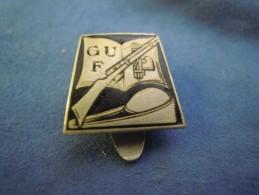 SPILLA DA BAVERO G.U.F. GIOVANI FASCISTI UNIVERSITARI - FASCISTA - ANNI '30 - Militaria