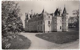 Bauge Gresillon Esperantista Kulturdomo Old Postcard Travelled 1957 To Yugoslavia D160705 - France