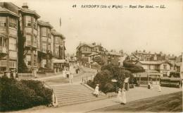 Royaume-Uni - Angleterre - Isle Of Wight - Sandown - Royal Pier Hotel - état - Sandown