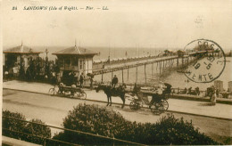 Royaume-Uni - Attelage De Chevaux - Angleterre - Isle Of Wight - Sandown - Pier - Bon état - Sandown