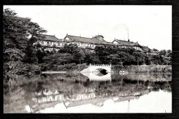 CPA-PHOTO ANCIENNE- ASIE- JAPON- LE NARA-HOTEL ET LE PARC- - Sonstige