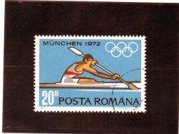 B - 1972 Romania - Olimpiadi Di Monaco - Canottaggio