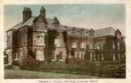 "CUMBRIA - ""SEDGEWICK HOUSE"", SEDBERGH GRAMMAR SCHOOL Cu976 - Cumberland/ Westmorland"