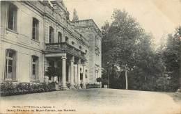 CARTE POSTALE : CHATEAU DE MONT FAVIER, PAR GUITRES . - France