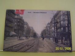 PARIS (2°ARRONDISSEMENT) LES COMMERCES. LES MAGASINS. BOULEVARD DE SEBASTOPOL. - Distrito: 02