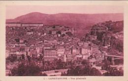 Algeria Constantine Vue Generale - Constantine
