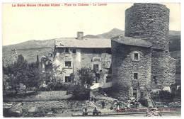 Cpa - La Bâtie Neuve - Place Du Château - Le Lavoir - Autres Communes