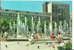 Stockholm (Stoccolma, Svezia) Kungstradgarden With Fountain - Suède