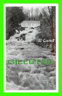 ST CANUT, QUÉBEC - CHUTE DE ST CANUT - VUE DES CHALETS - - Quebec
