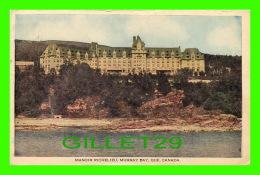 MURRAY BAY, QUÉBEC - MANOIR RICHELIEU VUE DU FLEUVE ST LAURENT - CIRCULÉE EN 1985 - CPL - - Autres
