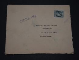 FRANCE – Env Réutilisée Dans L'autre Sens – Pas Courant - Détaillons Collection - A Voir - N° 17355 - Postmark Collection (Covers)