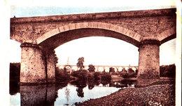 43 / Langeac, Le Pont De Costet Et Le Viaduc Du Chemin De Fer Sur L'Allier - Langeac
