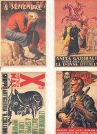 [B833]50 CARTOLINE DI RARI MANIFESTI DI PROPAGANDA R.S.I. BOCCASILE COSCIA E ALTRI ILLUSTRATORI - Guerre 1939-45