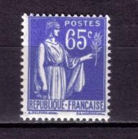 N* 365 NEUF** - 1932-39 Paix
