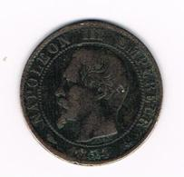 °°°  FRANKRIJK  5 CENTIMES  1854  BB - France