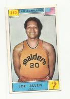 130527 Vecchia Figurina Basket Campioni Dello Sport Panini 1969 70 Pallacanestro Joe Allen Usa - Sport