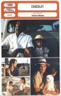 Fiche De Mr Cinéma CHOCOLAT - Réalisateur Claire Denis - FRANCE ALLEMAGNE 1988 - Cinemania