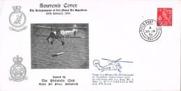 18576. Carta Feld Post Office 1971 (England). Flown In Wessex. Helicopter - 1952-.... (Elizabeth II)