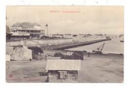 DJIBOUTI - Port, 1908, Paqueboat - Dschibuti