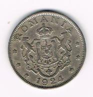°°° ROEMENIE   2  LEI  1924 - Roumanie