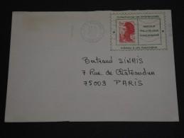 FRANCE – Env Moderne Avec Porte Timbre - Détaillons Collection - A Voir- N° 17367 - Advertising