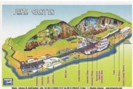 Map For Jeita Grotto Lebanon , Tourism  Liban Libano - Geographical Maps