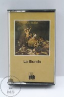 Vintage 1980´s Music Cassette - La Bionda - German Edition Ariola Records - Casetes