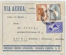 LTR11 - ARGENTINE VOL AEROPOSTAL POSADAS / BERNE 2/6/1940 - Argentine