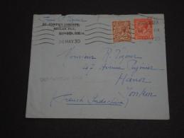 GRANDE-BRETAGNE – Env L'Indochine (French Indichina) Hanoï – Rare Destination - Détaillons Collection - N° 17384 - 1902-1951 (Rois)