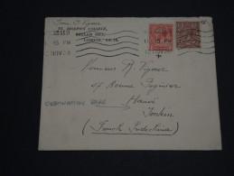 GRANDE-BRETAGNE – Env L'Indochine (French Indichina) Hanoï – Rare Destination - Détaillons Collection - N° 17386 - 1902-1951 (Rois)