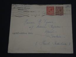 GRANDE-BRETAGNE – Env L'Indochine (French Indichina) Hanoï – Rare Destination - Détaillons Collection - N° 17389 - 1902-1951 (Rois)