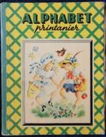 Jacqueline Duché - ALPHABET Printanier - Éditions G.P. - ( Septembre 1950 ) . - Bücher, Zeitschriften, Comics