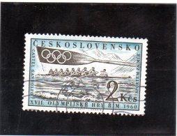 B - 1960 Cecoslovacchia - Olimpiadi Di Roma - Canottaggio