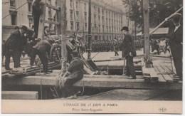 L'ORAGE DU 15 JUIN A PARIS  PLACE SAINT AUGUSTIN - France