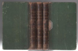 3 VOLUMES LE MONASTERE PAR SIR WALTER SCOTT - 1821 PARIS A LA LIBRAIRIE DE HENRI NICOLLE / LADVOCAT LIBRAIRE - 1801-1900