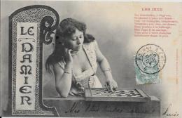 CPA Jeu échecs Chess Dames Circulé - Chess
