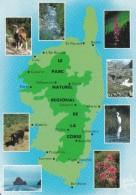 Parc Naturel Regional De La Corse ( Corse ) - Cartes Géographiques