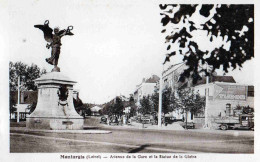 CPA  Montargis  Avenue De La Gare - Montargis