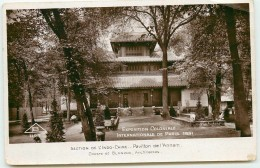 DEP 75 EXPOSITION COLONIALE 1931 SECTION DE L'INDOCHINE - Expositions